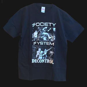 "SSD - ""SOCIETY SYSTEM DECONTROL"" SHIRT"