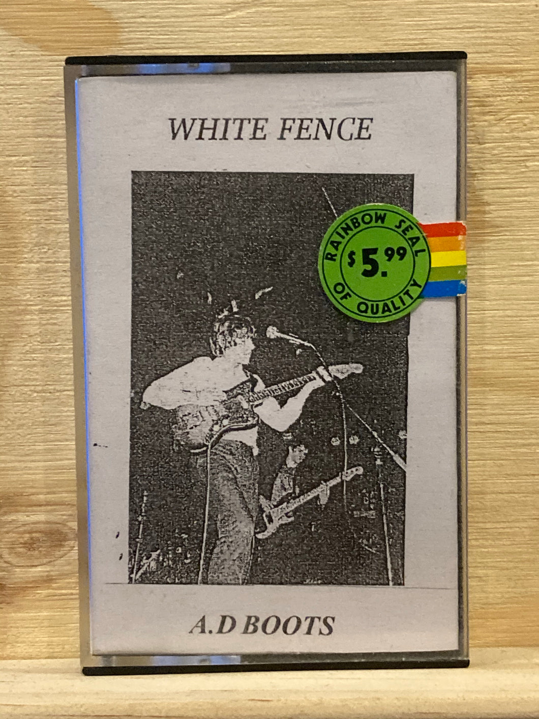WHITE FENCE - A.D BOOTS  CS
