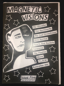 "MAGNETIC VISIONS - ""ISSUE #5"" ZINE"