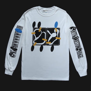 "BIG YAWN - ""SOUTH PRESTON"" LONG SLEEVE SHIRT WHITE"
