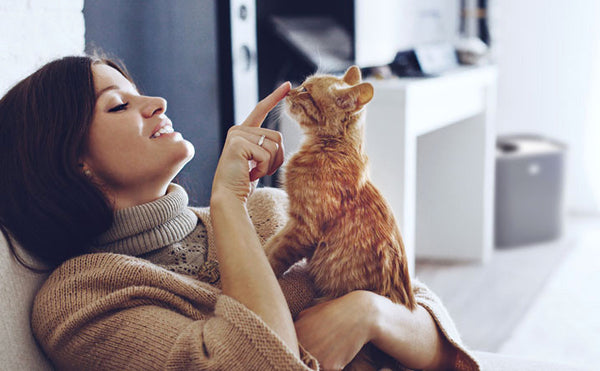 6 Ways Kitty Brings Health + Happiness into Your Life