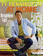Ty Pennington AT HOME Magazine