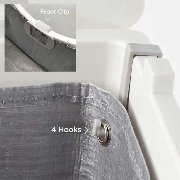 Clip and Hooks for the Flip Tarp Liner