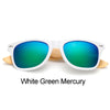 Ivory Monarch Wooden Sunglasses