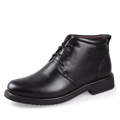 Sherman Leather Boots