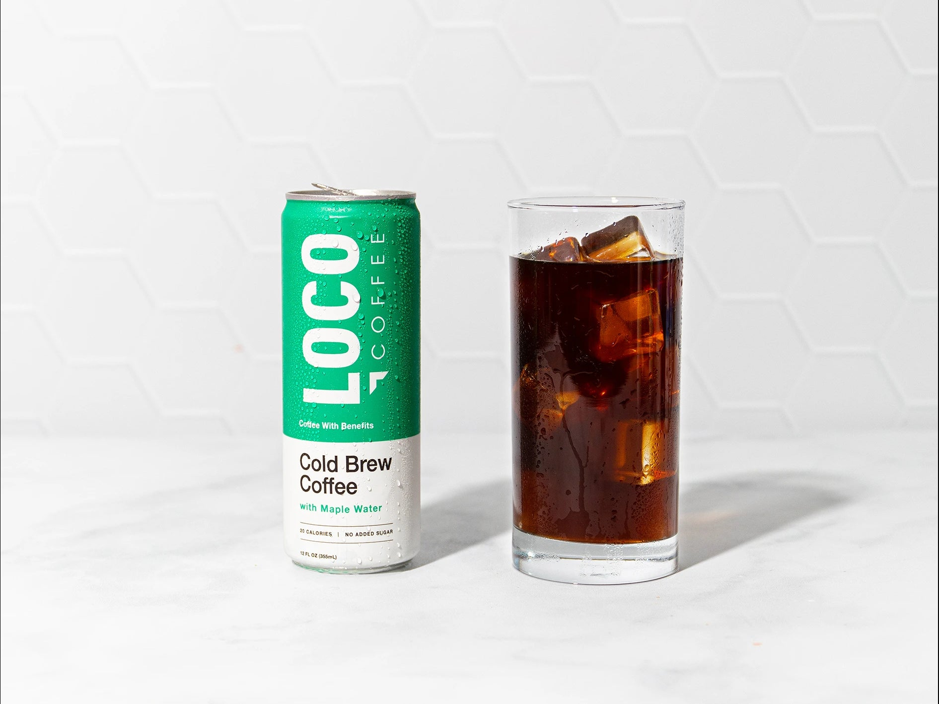 antioxidant infused cold brew with maple water