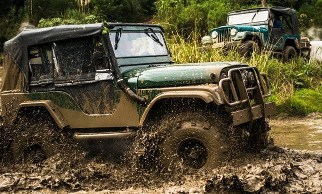 The Importance of Cleaning Your Jeep After Mudding
