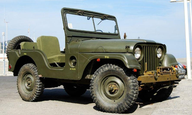 The Role of Jeeps in the Military