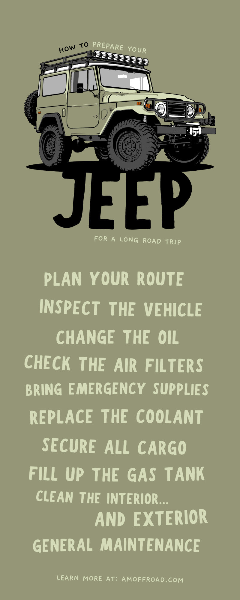 How To Prepare Your Jeep for a Long Road Trip
