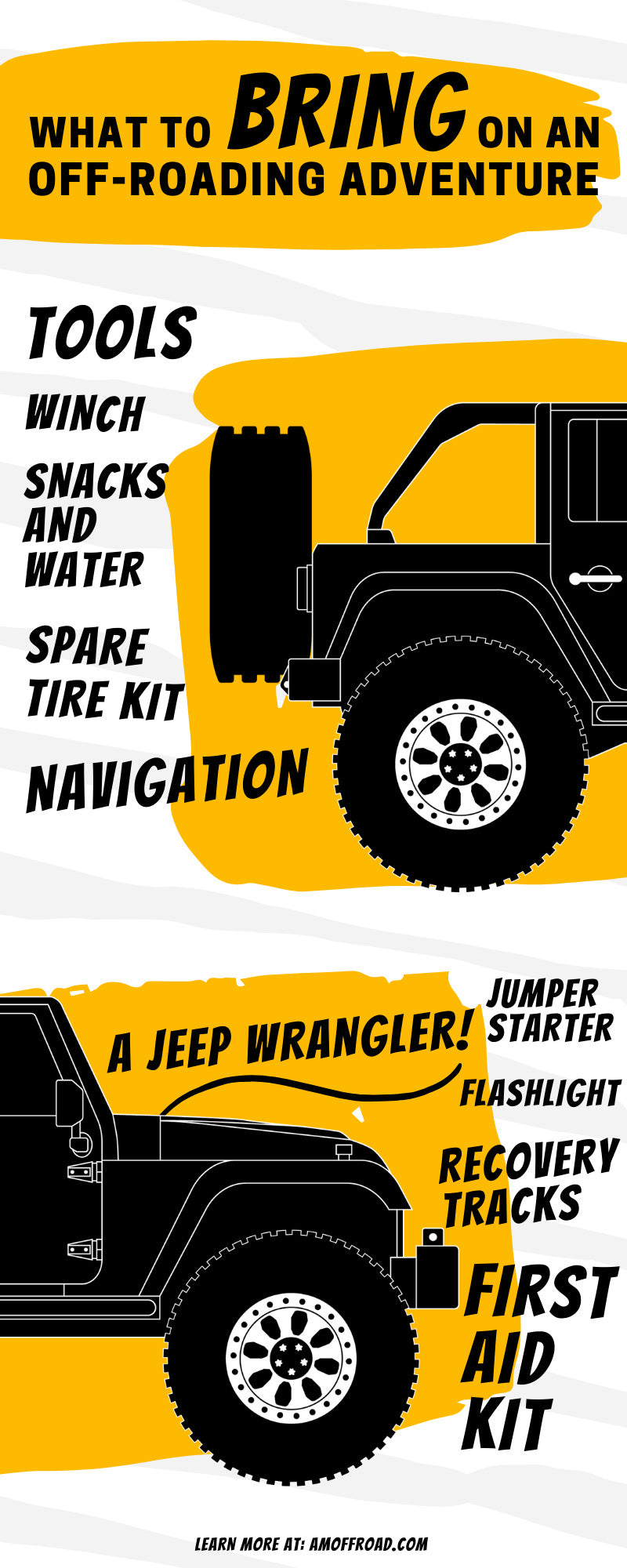 What To Bring on an Off-Roading Adventure