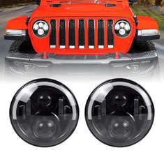 Jeep JL Half Halo LED Headlights