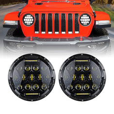Jeep JL Honeycomb LED Headlights