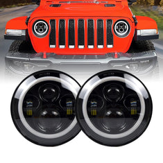 Jeep JL LED Halo Headlights