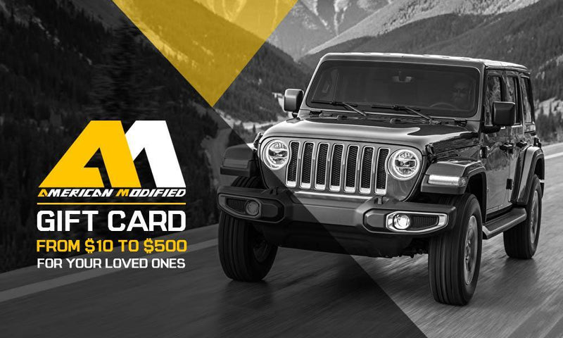 am off-road gift card