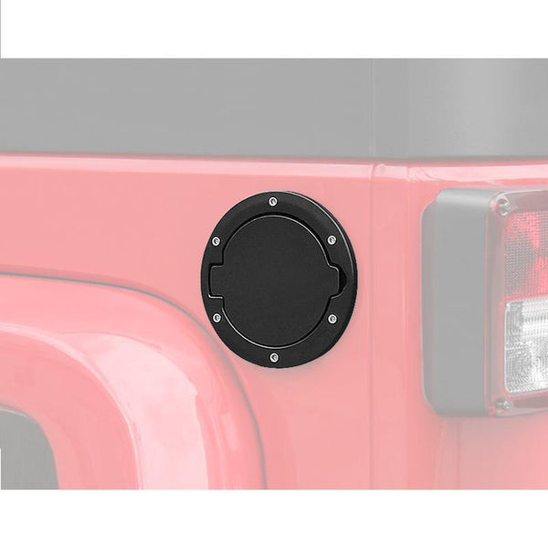 Jeep Wrangler Black Gas Fuel Tank Cover