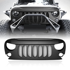 Jeep Wrangler Demon Black Grille