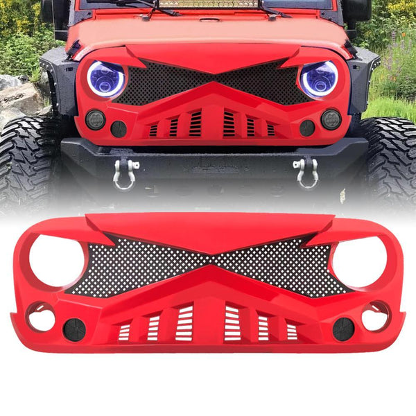Jeep Wrangler Hawke Grille