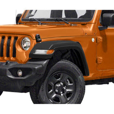 High-Top Front Fenders w/ LED Lights & Inner Fender for 18-21 Jeep Wrangler JL
