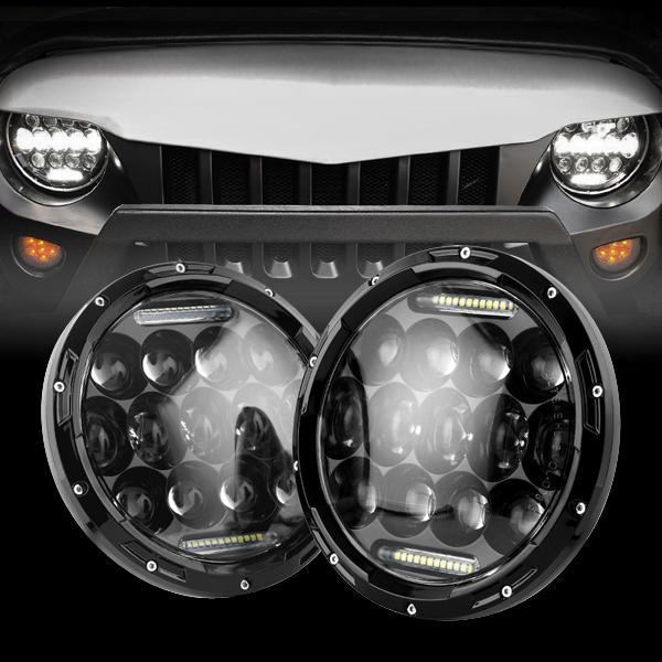 Jeep Wrangler DOT 7 Inch Round LED Headlights