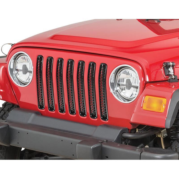 Jeep Wrangler Honeycomb Mesh Grill Inserts