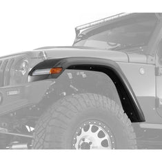 JK to JL Conversion Front Fender Flare w/ LED Lights & Inner Fenders for 07-18 JEEP WRANGLER JK