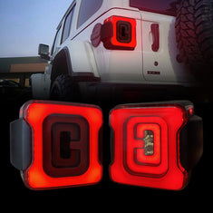 amoffroad jeep wrangler smoked cover tunnel tail lights