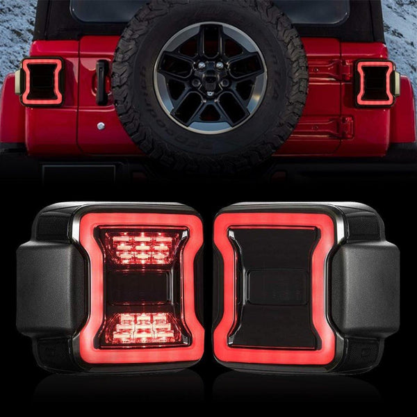 Jeep Wrangler jl tail lights