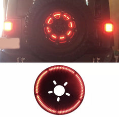 Spare Tire 3rd Brake Lights for 87-21 Wrangler TJ/ JK/ JL