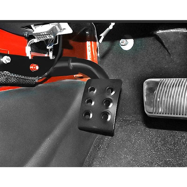 Jeep Wrangler Steel Left Side Foot Pedals Pegs