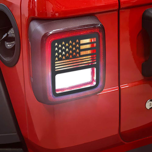 Jeep Wrangler Tail Light Covers