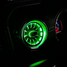 Jeep Wrangler Turbo Air AC Vent with Ambient Light | AMOFFROAD