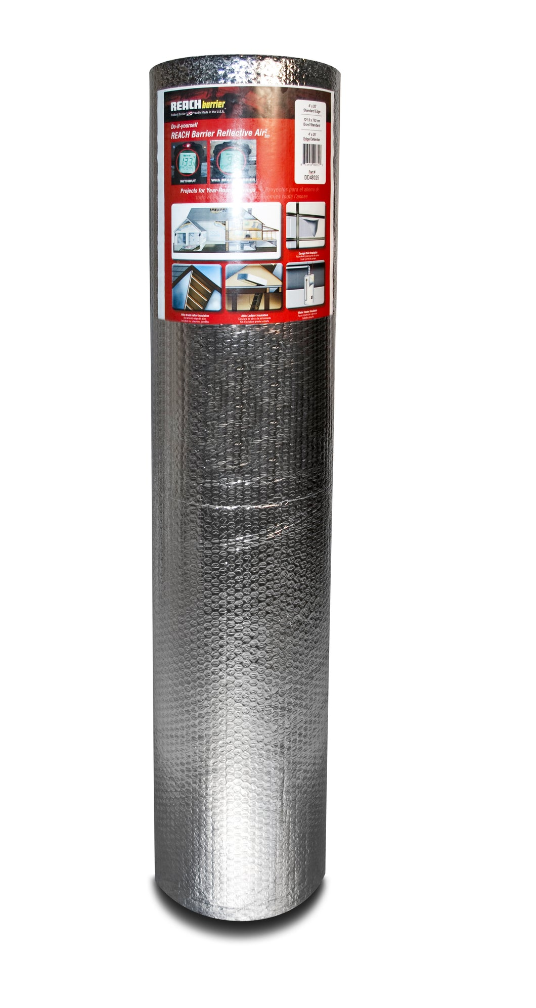 Reach Barrier Reflective Air² Roll 4'x10' (Double Reflective/Double Bubble)
