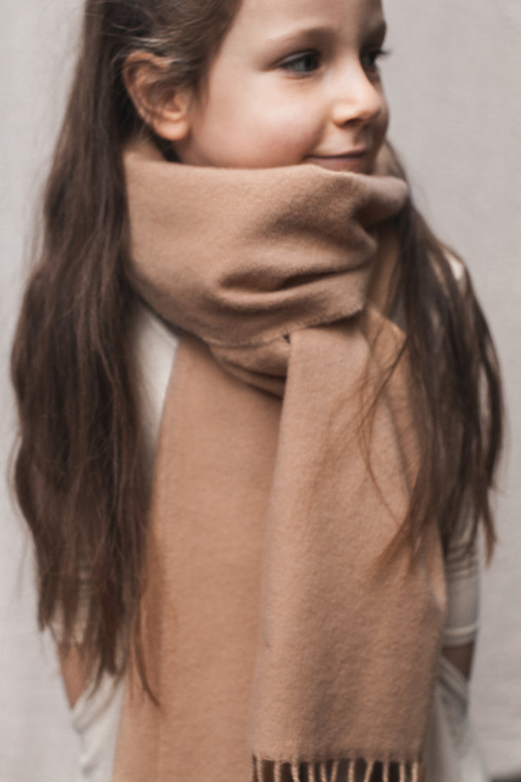 LAMBSWOOL SCARF | HONEY - Coco & Ives