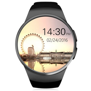 KingWear KW18 1.3 inch Round Dial Smartwatch Phone MTK2502 IPS Screen Pedometer Sedentary Reminder Bluetooth 4.0 Heart Rate Monitor | Clocks & Rocks