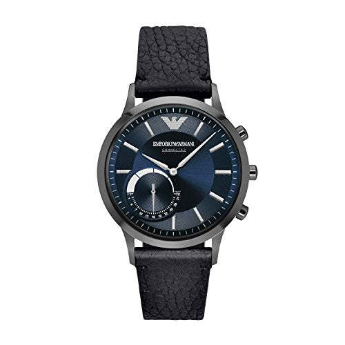 Emporio Armani Men's Hybrid Luxury Smart Watch | Clocks & Rocks