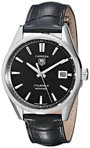 TAG Heuer CARRERA Calibre 5 automatic men's watch | Clocks & Rocks