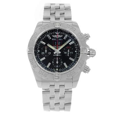 CLOCKS & ROCKS | Breitling Chronomat Blackbird Series men's watch | FRONT