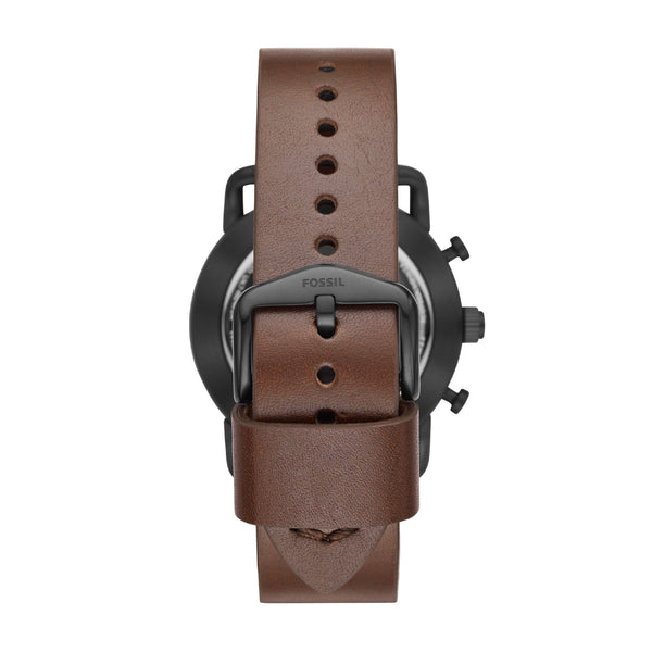 Clocks and Rocks | Fossil Q Hybrid men's wrist watch | back