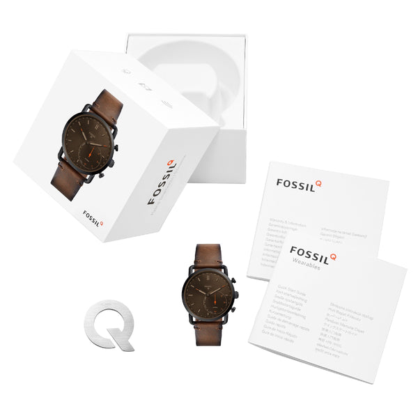 Clocks and Rocks | Fossil Q Hybrid men's wrist watch | Boxed