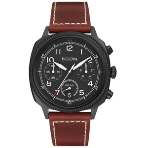 Bulova - Military Men's Wrist Watch | Clocks & Rocks