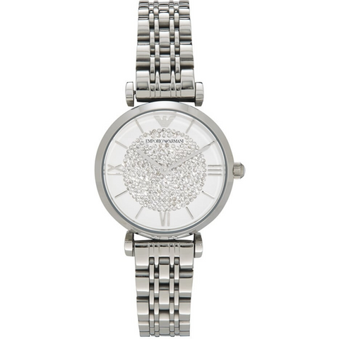 Emporio Armani crystals dial Women's Watch | Clocks & Rocks