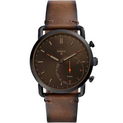 Clocks and Rocks | Fossil Q Hybrid men's wrist watch | Free Shipping