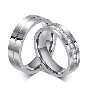 Wedding Band Engagement 6mm Rings for Couples | Clocks & Rocks