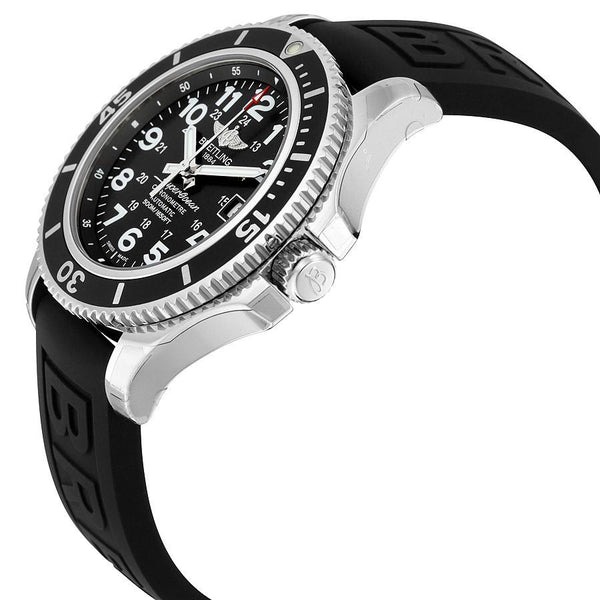 Clocks and Rocks | Breitling - Superocean II Men's Wrist Watch (42 A17365C9/BD67-150S) | From the Side