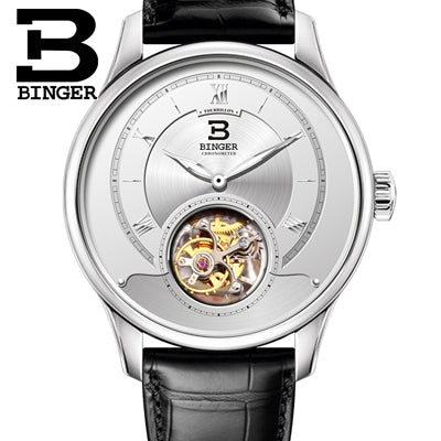 BINGER Men's Wrist Watch - Japan Seagull, Limited Edition | Clocks & Rocks
