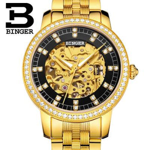 Binger Women's Luxury Wrist Watch | Clocks & Rocks