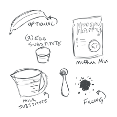 Muffin Mix Ingredients