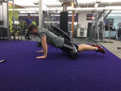 Knee Push-up Up Position