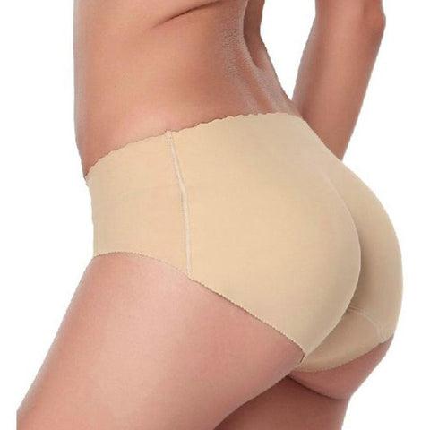 2016 New Fashion sexy Padded panties for women Lady Seamless Butt padded underwear hip padding Enhancer Shaper Panties Underwear