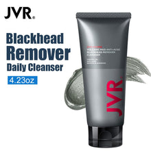 JVR Remove Blackhead Foam Facial Cleanser Hyaluronic Acid Face Wash For Acne Treatment Combination Skin Limpiador Facial 120g
